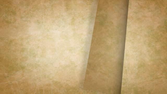 old paper filp video