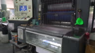old printing machine working video
