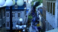 Old Quebec Streets time-lapse video