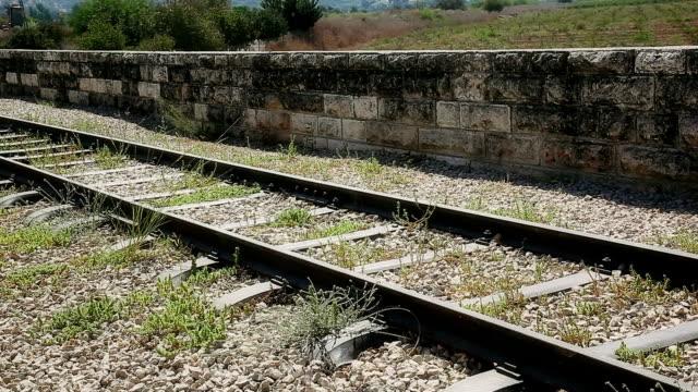Old Rail road platform video