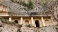 old rock church in Ihlara Valley video