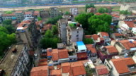 Old Roofs  in Wuhan Hubei China video