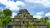 Old Ruin Pyramid of Koh Ker Temple in Cambodia video
