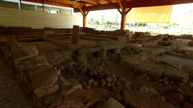 Old Ruins of a Synagogue in Israel video