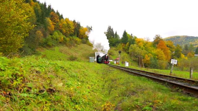 Old Steam Train video