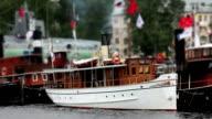 Old steamship video