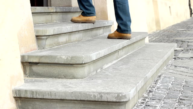 Old Stone Steps Entrance video