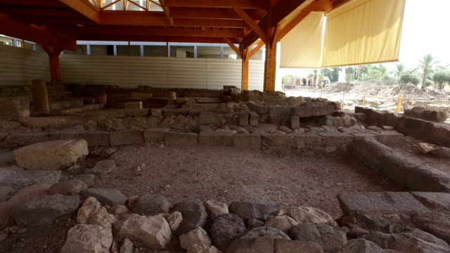 Old Synagogue Ruins in Israel video