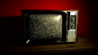 Old Television Set video