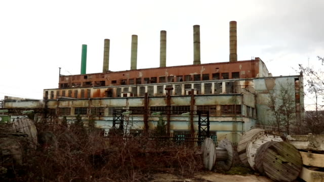 old thermal power stations video
