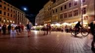 Old town in Krakow video