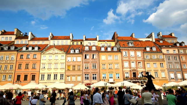 Old Town in Warsaw video