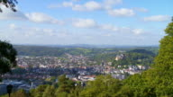 Old Town Of Marburg (Hessen) Time Lapse video