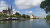 HD Old town of Regensburg video