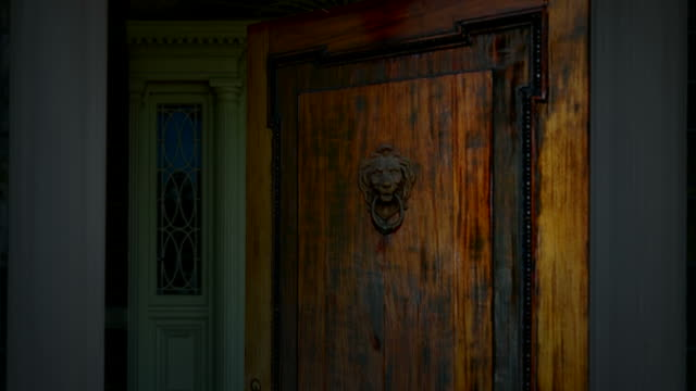 Old traditional doors video