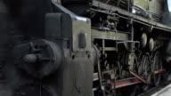 old train closeup video