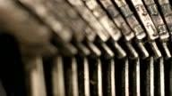 old typewriter video