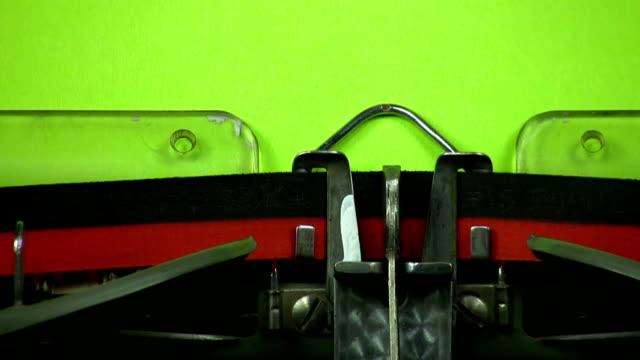 Old Typewriter: We need help! video