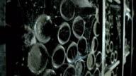 Old wine bottles video