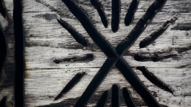 old wood carvings video
