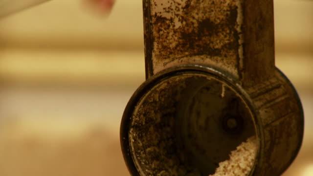 HD: Old-Fashion Kitchen Appliance video