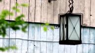 old-fashioned lantern video