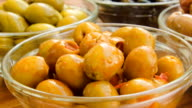 olives stuffed with paprika video