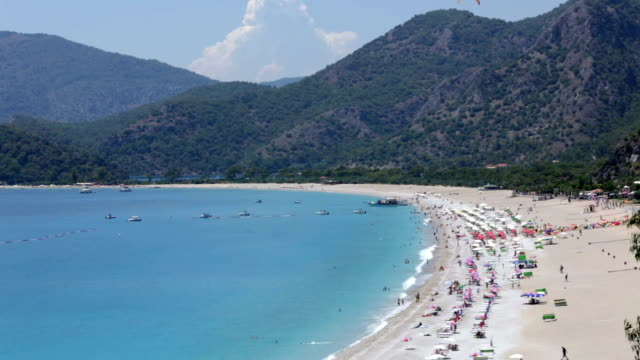 Oludeniz Beach, Fethiye, Turkey video