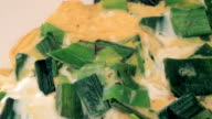 Omelet with vegetables video