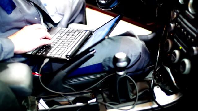 On board diagnostics. video