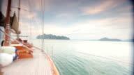 On Board Luxury Sailing Yacht video