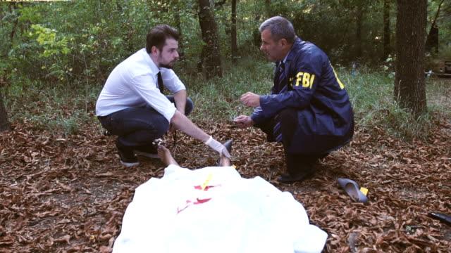 FBI on murder scene video