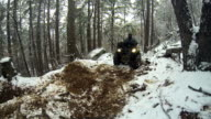 ATV on Rugged Trail video