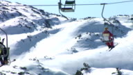 HD TIME-LAPSE: On The Ski Lift video