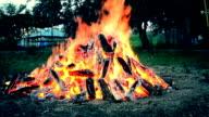 One big beautiful fire video