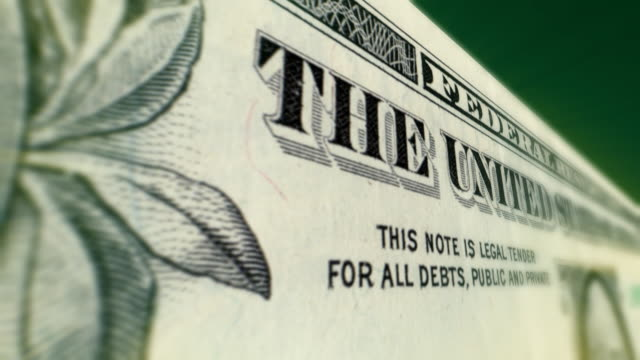 One Dollar Bill 3D Move video