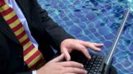 One hand typist video