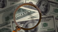 One Hundred Dollars Magnifying Glass video