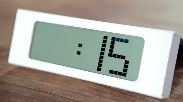 One minute digital timer video