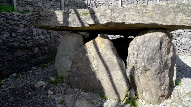 One of the stonehenge built in Carrowmore Cemetery Ireland video