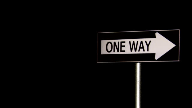 One Way, Signs video