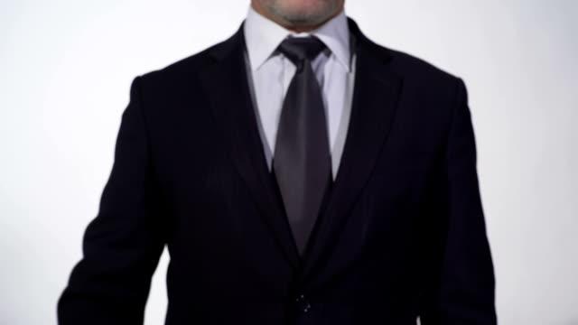 One year is 365 opportunities motivation on blackboard in businessman hands video