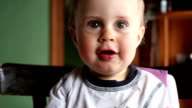 One year old boy video