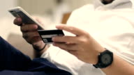 Online banking and payment concept. video