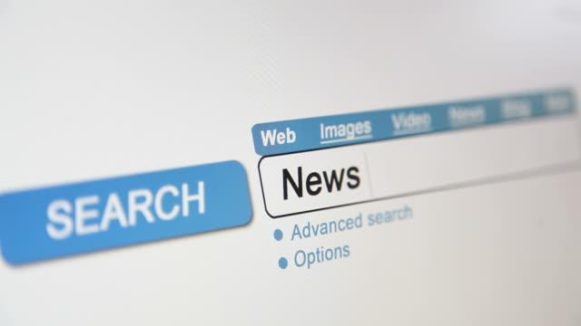 Online search - News headlines video