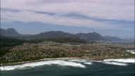 Onrus  - Aerial View - Western Cape,  Overberg District Municipality,  Overstrand,  South Africa video