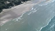 Opal Coast  - Aerial View - Nord-Pas-de-Calais, Pas-de-Calais, Arrondissement de Montreuil, France video