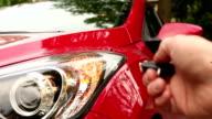 Open a car video
