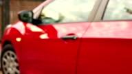 Open and start car + Audio, 3 shots video