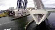 Open Bridge aerial video video
